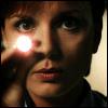 auburn: Janet Fraiser (SG1) shining pen light into camera (Janet with Penlight)