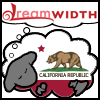 telesilla: the dreamwidht sheeps with the california bear flag on it (dreamwidth sheep)