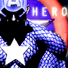 st_aurafina: Captain America, looking somber, holding his shield (Marvel: Captain America)