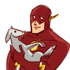 turntap: ([justice league unlimited] Turntap2, Flash + Goat)