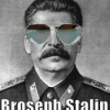 "halialkers: An image of Joe Stalin in sunglasses with the phrase ""Broseph Stalin"" on it (Kaartshaahin Heshatani)"