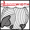 soc_puppet: Dreamsheep with a ball of white yarn for a body (Crochet, Yarnsheep)