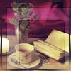 aigha: (Tea & book)