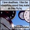 glinda: lovely whooshing noises (deadlines)