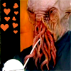 glinda: An Ood surrounded by hearts (Oood!love)