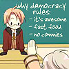 pyrrhiccomedy: (democracy rules)
