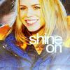 dira: Rose Tyler shines on. (Rose - Shine)