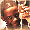 isagel: (hustle champagne)