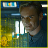 caramarie: David from Prometheus with the cube of human accomplishments. (david and the cube of human accomplishme)