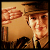 semielliptical: sam saluting (foyle's war) (salute)