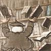 fireshowers: (books!)