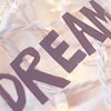 sarken: text: dream (over white lights) ([misc] feel dizzy light and free)