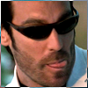 highlander_ii: Jarod from the Pretender in sunglasses licking his lips ([Jarod] tongue and shades)