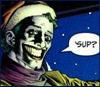"rdfox: Joker asking Tim Drake, ""'Sup?"" from Paul Dini's ""Slay Ride"" (Default)"