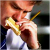 highlander_ii: James Wilson eating a sandwich ([Jimmy] sammich)