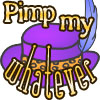 "pimp_my_whatever: A purple hat with a feather, overlaid with the words ""Pimp my whatever"" (Main Pimp Hat)"