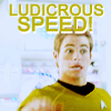 eponymous_rose: (ST | Kirk | Ludicrous Speed FTW)