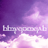 darkhavens: image: purple tinted clouds, text: 'Eruantale' ('darkhavens' in Sindarin) (me - eruantale [literati])