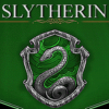 dru_evilista: Slytherin snake and the word Slytherin. (Slytherin)