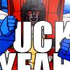 swordage: Excited Starscream saying *UCK YEAH (tf FUCK YEAH)