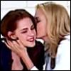 lavendertook: (theron/stewart kiss)