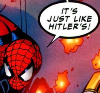 enygmatix: Spidey arguing on the Internet (Godwin's Law, Spider-Man)