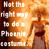 leaveoutalltherest: (phoenix costume)