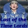 everchangingmuse: haruno sumire wearing time lord looking robes in the craziest fandom crossover idea ever (time lord osa)