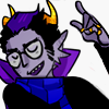 veebox: Eridan Ampora ☆ Homestuck (So raise your glass)