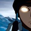 aberration: Close up of Korra from LoK, her eyes glowing because she's finally in the fucking Avatar state already. (chorus so sublime)
