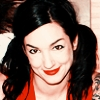 sansets: Lyn-Z Bellato, bassist for the band Mindless Self Indulgence, smiling (WITH PIGTAILS. :-D) (Lyn-Z)
