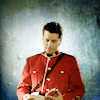 skieswideopen: Benton Fraser in RCMP dress unifom reading a book (Due South: Fraser in Red)
