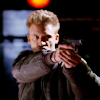 skieswideopen: Ray Kowalski aiming a gun (Due South: Ray K)