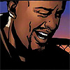 muccamukk: Luke Cage laughing brokenly. (Marvel: Laugh or Cry)