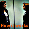 wendelah1: Dana Scully and Diana Fowley have a stare-down (How it works)
