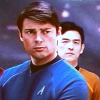 sumofparts: icon of Sulu and McCoy from 2009 Star Trek movie (sulu mccoy)