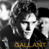 ilyena_sylph: Dallas Winston, of 'The Outsiders', gold text reading 'gallant' (Outsiders: dally)