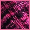 wyomingnot: close-up of pink rib knit (knit pink)