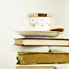 sigelphoenix: (tea and books)