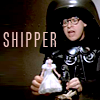"eevilalice: Dark Helmet from Spaceballs playing with his dolls with ""shipper"" text (SB shipper)"