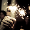 nonnie: Sparklers. (sparklers)