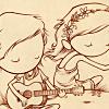 theia: (hippie chick & beau)