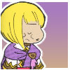 nofrigatelikeabook: cutsey fanart of sheba looking annoyed (character from the GBA game Golden Sun) (annoyed sheba)