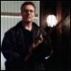 highlander_ii: Rupert Giles weilding a chainsaw ([BtVS-SS] chainsaw Giles)
