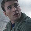 jain: Steve Rogers in the rain. (avengers steve)