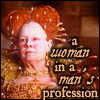 icewolf: a woman in a man's profession (queen elizabeth)