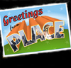 thingswithwings: greetings from place! (postcard from Homestarrunner) (h*r - greetings from place)