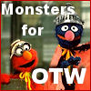 cereta: Grover and Elmo support OTW (Monsters for OTW)