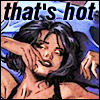liviapenn: selina reclines in bed, fingers brushing her lips (dc: that's hot (selina approves!))