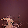 canis_m: the girl in the water (splish splash)